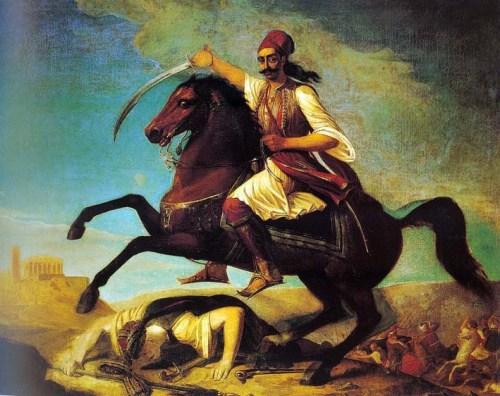Karaiskakis a caballo