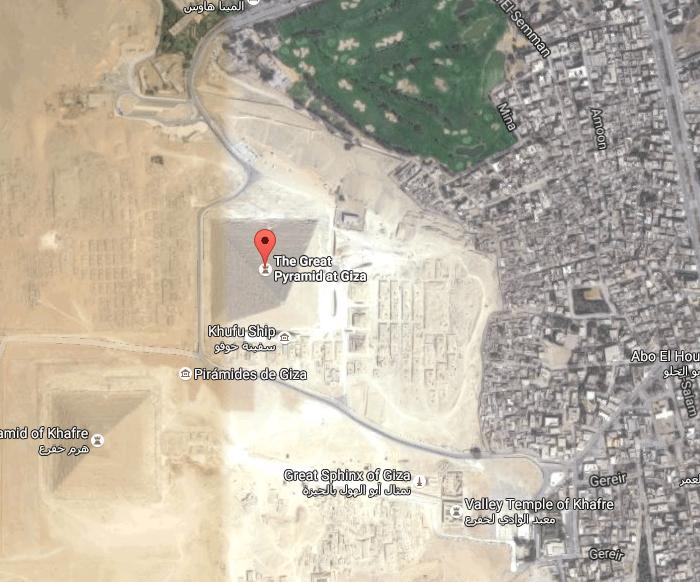 Piramide El Cairo