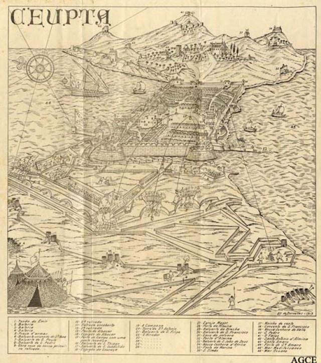 Ceuta durante el sitio
