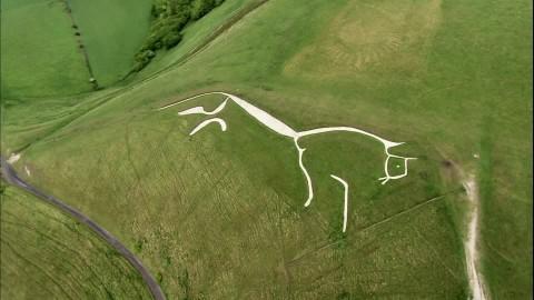 El caballo/dragón de Oxforshire