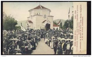 Inauguración de la Capilla en 1909