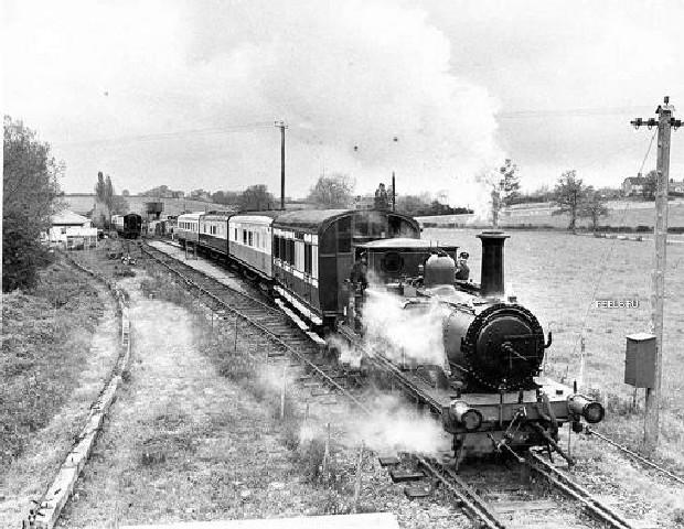 Tren Betanzos-Ferrol años 20