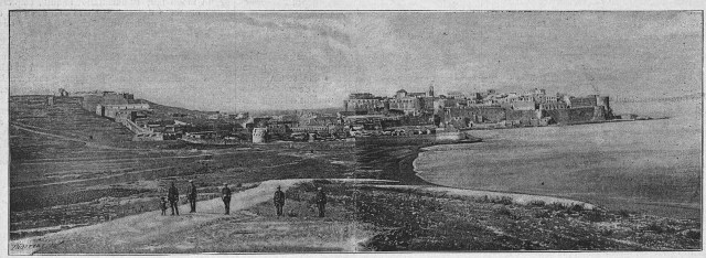 Vista de Melilla desde el fuerte de San Lorenzo (1891)