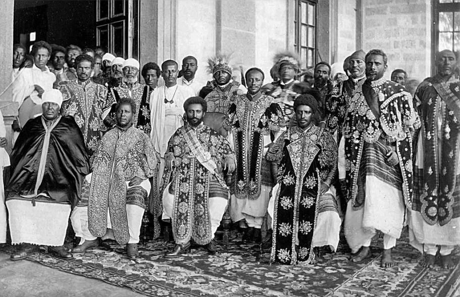 Miembros de la realeza Abisinia a inicios del siglo XIX