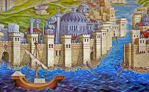 murallas bizancio