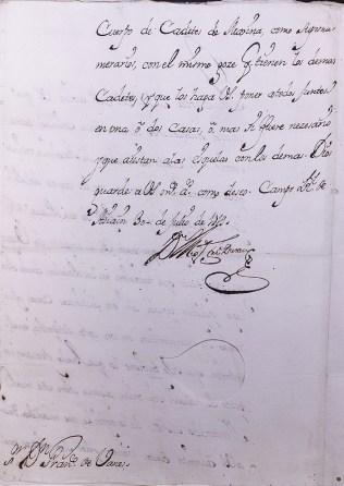 Archivo del Museo Naval 0809 Real Compañía de Guardias Marinas. Asuntos Particulares. Subsistema Archivístico de la Armada