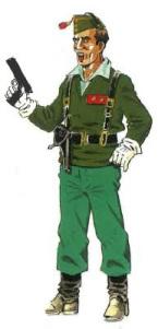 Cabo 1º. Uniforme legionario.Campaña Sidi Ifni . [Historia y Guerra.net]