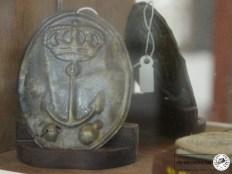 Chapa de Morrión de Granaderos (Museo Naval de Ferrol)