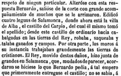 Extracto del texto de Juan de Mariana sobre Juan de Mariana.