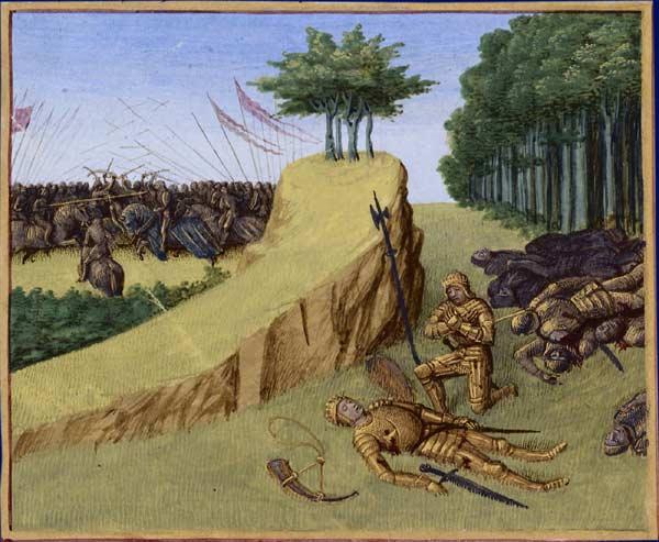 Bernardo del Carpio roncesvalles