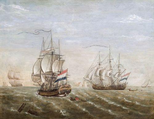 Barcos de la Compañía Neerlandesa de las Indias Orientales