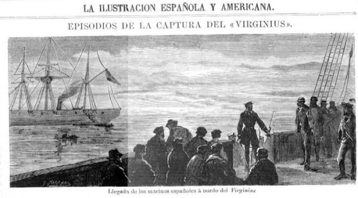 La ilustración española y americana del 16 de diciembre de 1873 ilustraba los hechos