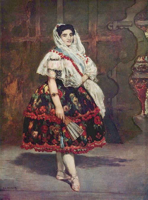 """""""Lola de Valence"""" Édouard Manet (1832–1883) Musée d'Orsay"""