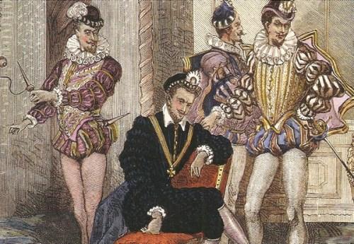 El rey y sus Favoritos