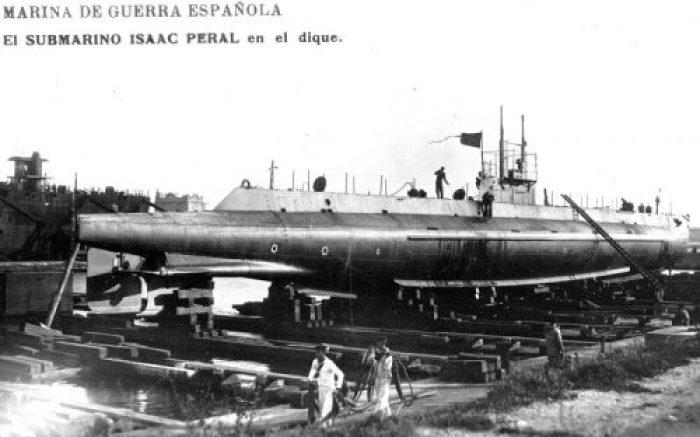 submarino isaac peral españa