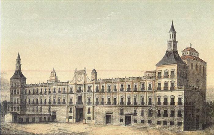 Alcázar de Madrid incendio