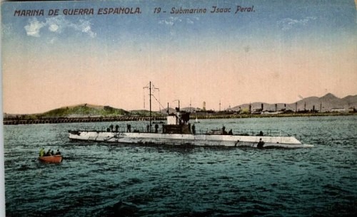 Submarino Isaac Peral