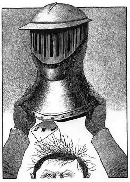vuelta mundo mascara hierro