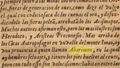 Photo of Los legendarios Abarimon, los hombres de los pies al revés