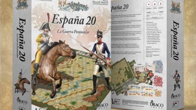 """Photo of Historia de España sobre el tablero: """"España20"""""""