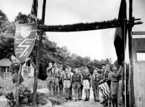 Entrada de un campamento en Andover, Nueva Jersey, Julio de 1937 (Foto: Archivo AP)
