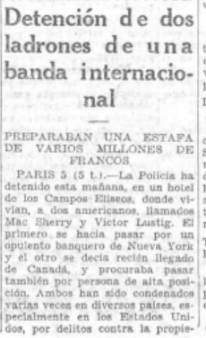 La Voz (Madrid). 5/7/1929,