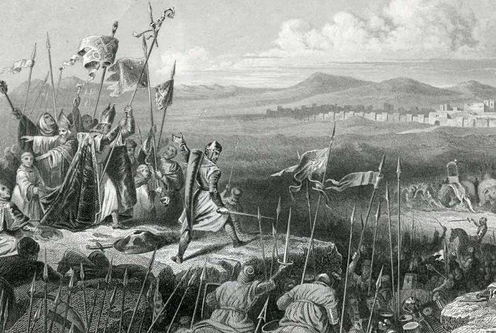 españoles cruzada