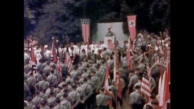 Photo of Cuando los nazis norteamericanos desfilaban por Nueva York, la German-American Bund