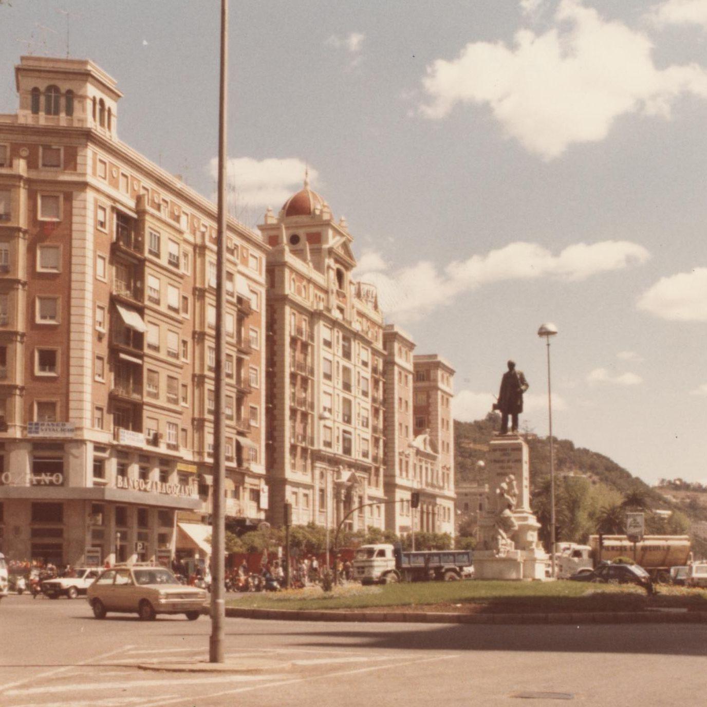 1 de enero de 1985. Archivo Municipal de Málaga.