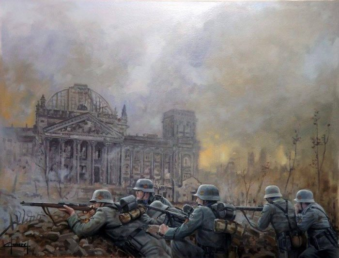 espanoles ezquerra batalla berlin