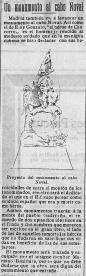 Recorte de prensa: El Adelanto : Diario político de Salamanca: Año XXVI Número 8038 - 1910 agosto 26