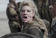 mujer vikinga guerrero