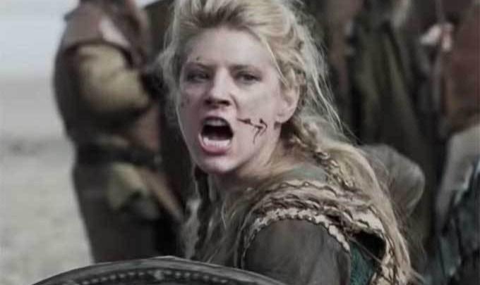 mujer vikinga