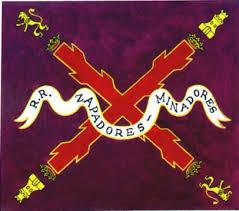 Bandera 2º Bon. Regimiento Real