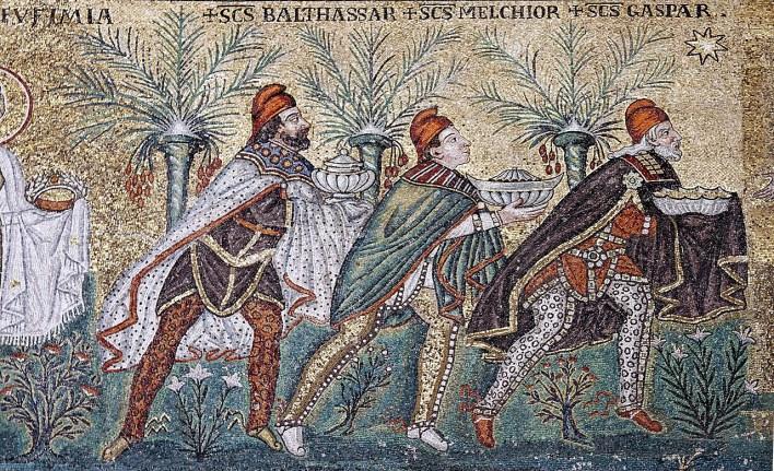 La primera imagen de los Reyes Magos de la Historia