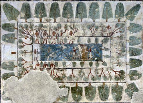 jardines egipto viajar