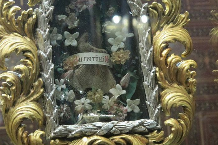 san valentín reliquias