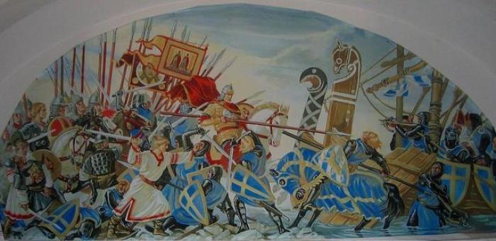 batalla hielo lago nevsky teutones rusia