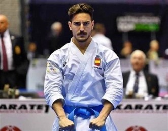 Damian Quintero (campeón de Europa en Kata 2018)