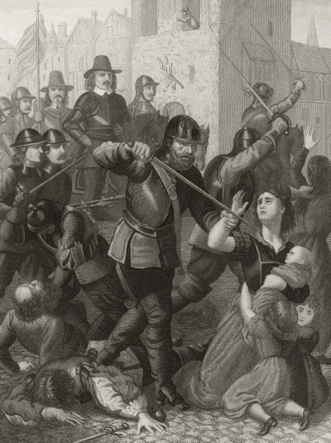 masacres irlanda ingleses