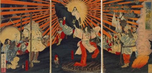 Japón, religión, sintoísmo, historia