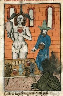 Daniel, Bel y el Dragon (Francia siglo XV).
