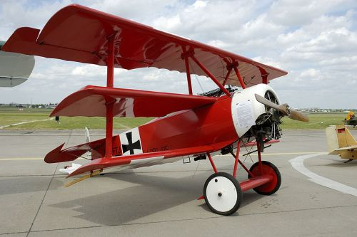 baron rojo primera guerra mundial avion alemania