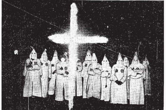 KKK Ku Klux Klan EEUU racismo supremacismo