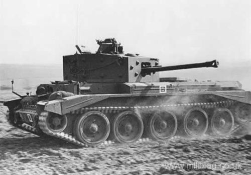 villers bocage 1944 wittmann britanico Cromwell