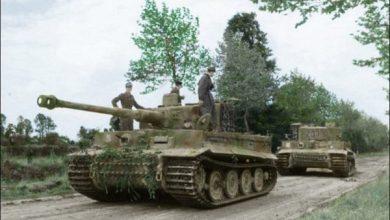 Photo of Villers-Bocage en 1944, cuando el ejército británico sufrió una de las emboscadas más catastróficas de su historia