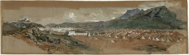 Fortuny pintura batalla Tetuán