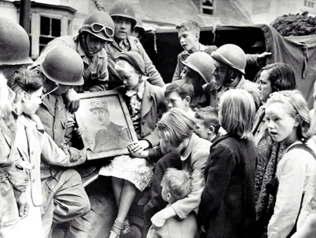 colaboración horizontal 1944 liberación represalias