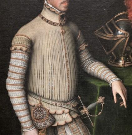 prendas militares siglos XVI y XVII Edad Moderna