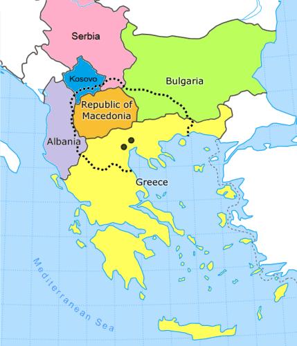 El nombre de Macedonia: ¿república exyugoslava, territorio griego ...